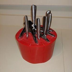 Like New Raffaele Iannello Set of 6 Steak Knives